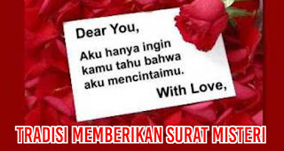 Tradisi memberikan Surat Misteri Merupakan Salah Satu Fakta Menarik Tentang Valentine Yang Harus Kalian Ketahui