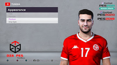 PES 2020 Faces Hamza Mathlouthi by Chakib Guergour