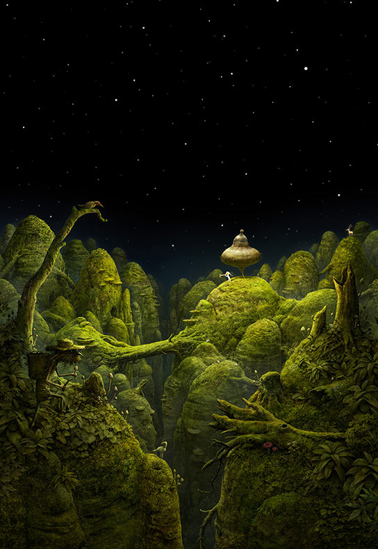 Un mundo inmersivo de narración de cuentos visual y resolución de enigmas en 'Samorost 3'