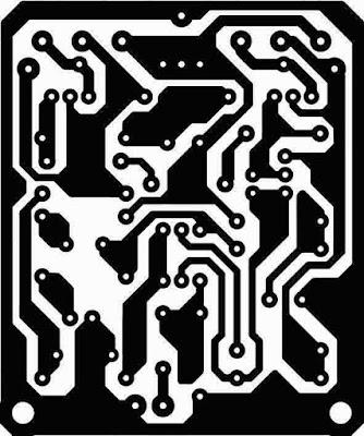 Power Amplifier PCB Design Layout OCL 50W