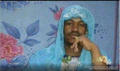Police arrest Somali man for posing as a bridesmaid