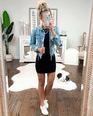 outfit de primavera casual
