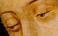 Our Lady of Guadalupe's eyes