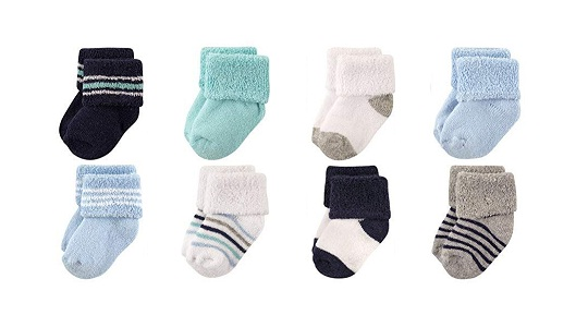 Luvable Friends Unisex Socks