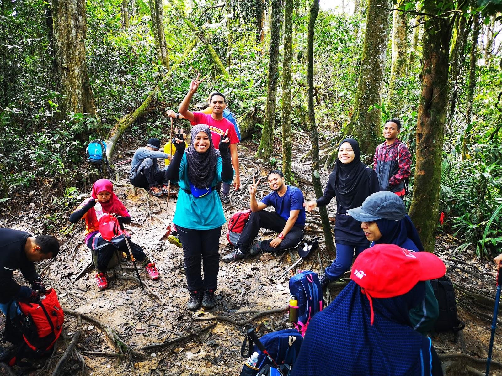 Gunung Telapak Buruk - Crash Site 2