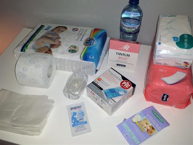 jak spakować torbę do szpitala na poród