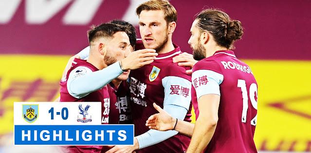 Burnley vs Crystal Palace – Highlights