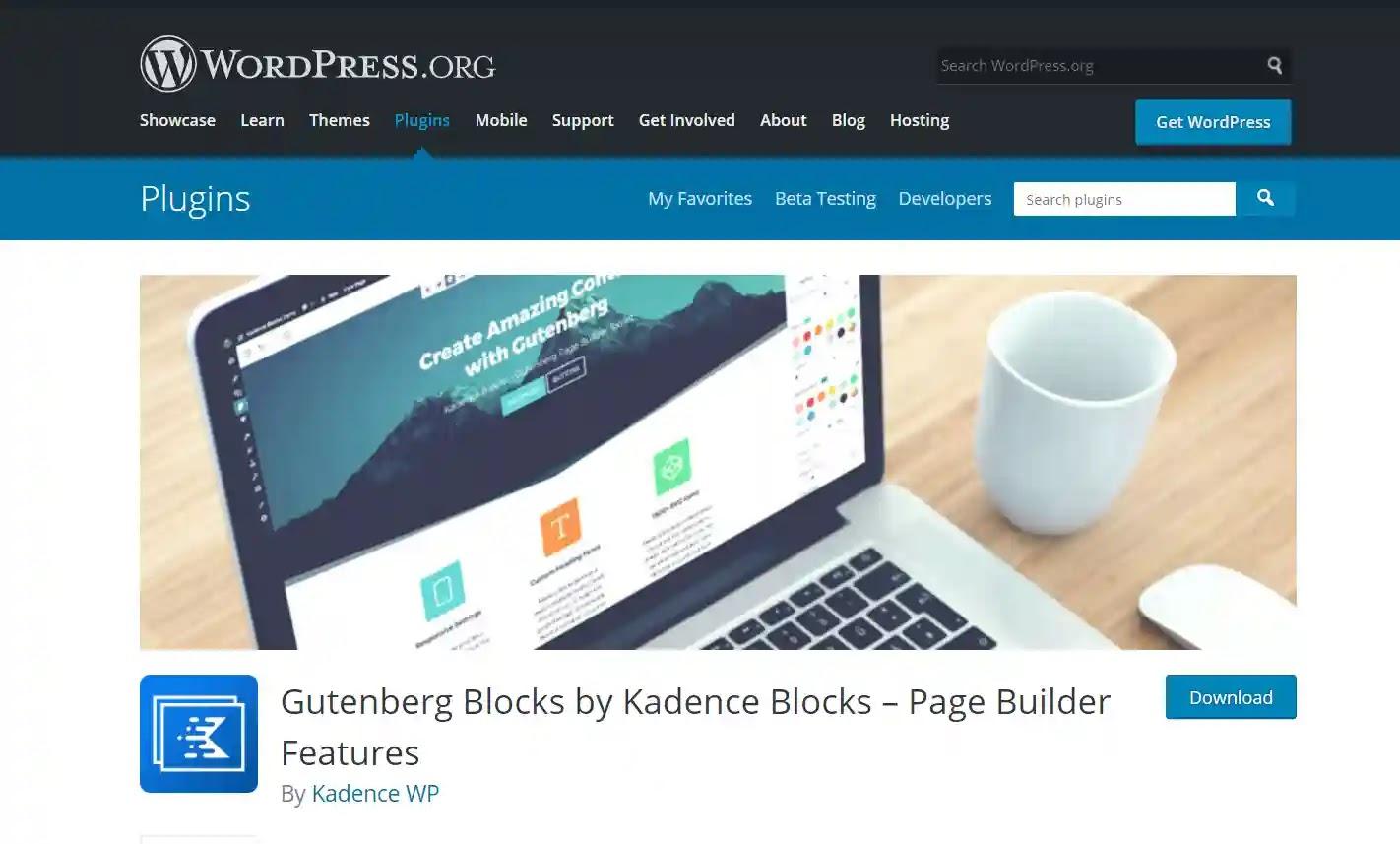 Gutenberg Blocks by Kadence Blocks – Page Builder Features