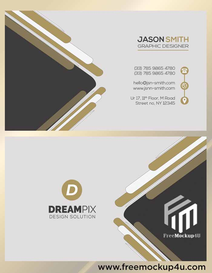 Real Estate Clean Business Card Template Design Templates PSD