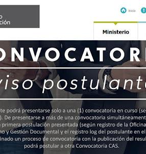 MINEDU: Convocatoria CAS Setiembre 2017 - Más de 120 Puestos de Trabajo en el Ministerio de Educación - www.minedu.gob.pe