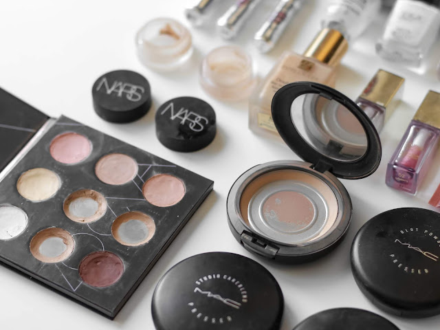 spotřebované makeupy a korektory recenze