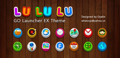 Tema Terbaru Go Launcher LuLuLu Apk Download