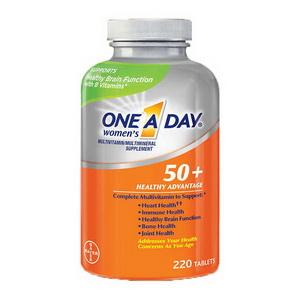 Viên uống bổ sung dinh dưỡng cho phụ nữ trên 50 tuổi One A Day Women của Mỹ