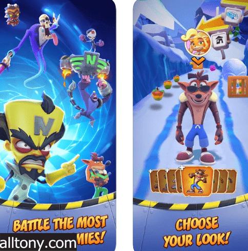 تحميل لعبة كراش بانديكوت Crash Bandicoot: On the Run للأيفون والأندرويد APK