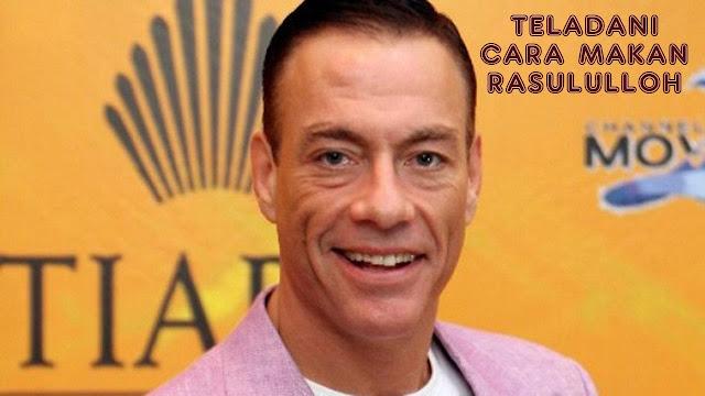 Ikuti Pola Makan Seperti Nabi Muhammad SAW, Jean Van Damme: Tidak Makan Babi Itu Sehat!
