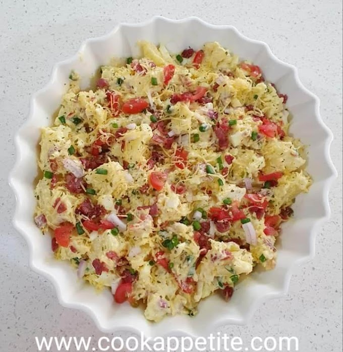 Cheese Potato Salad Recipe
