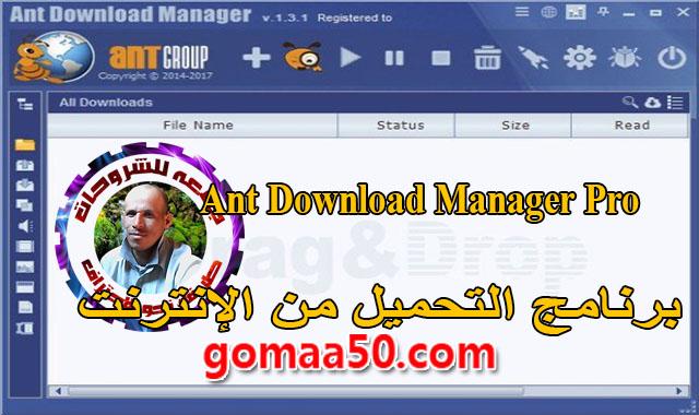 برنامج التحميل من الإنترنت  Ant Download Manager Pro v1.13.3 Build 60305