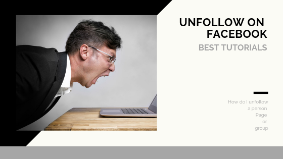 How To Unfollow People On Facebook<br/>