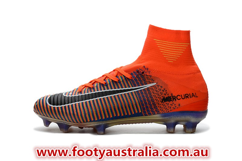 new style b20b4 69c8c The Nike Mercurial Superfly x EA Sports cleats boast an outstanding  multicolored design that transits from a pixelated 16-bit graphic on the  medial side to ...
