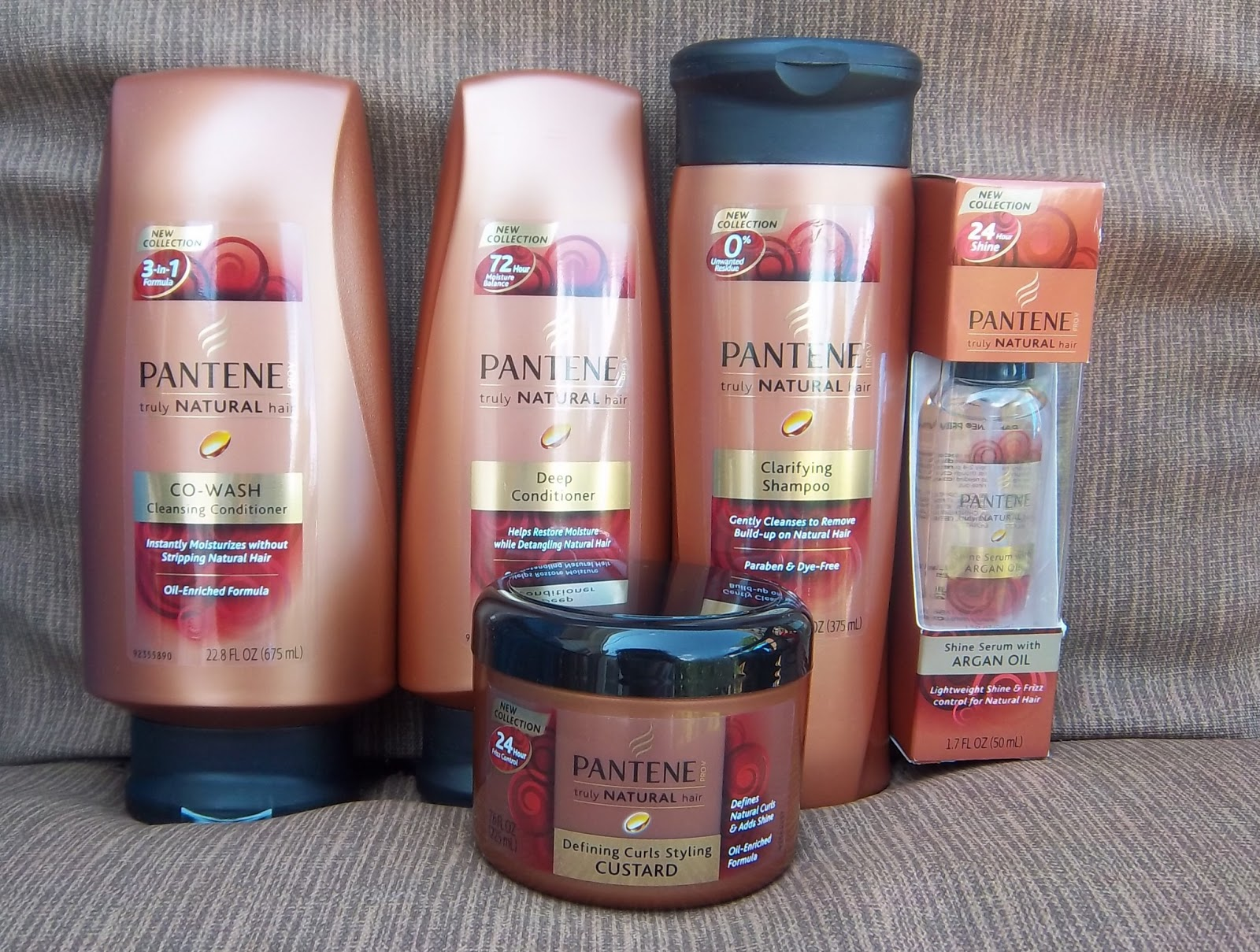 Rural Glamour Review Pantene Pro V Truly Natural Hair Collection