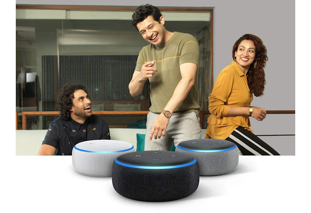 Echo Dot (Black) bundle with Wipro 9W smart white bulb Just In 2,850 Limited Deal...