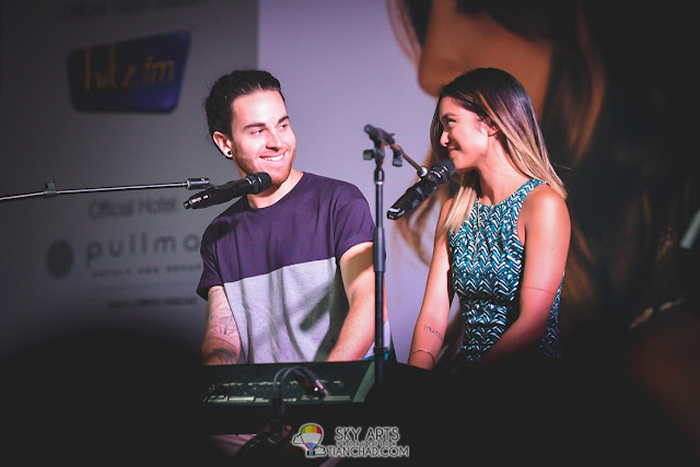 My favourite picture of Michael and Carissa @ Us The Duo Live In Malaysia 2015