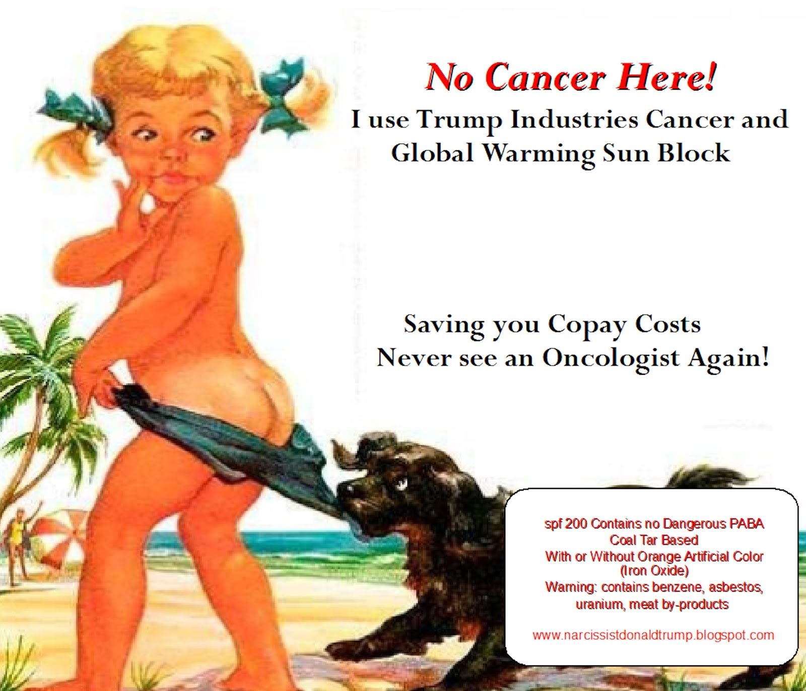 Trump Industries Cancer Block