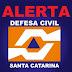 Defesa Civil alerta para temporais nesta semana