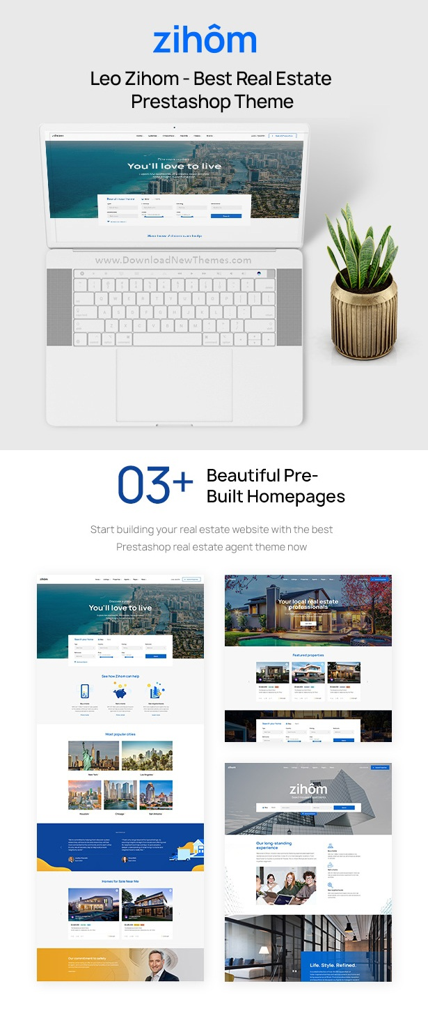 Prestashop Real Estate Theme