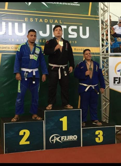 Atleta guajaramirense conquista mais um título no Campeonato Estadual de Jiu-Jitsu