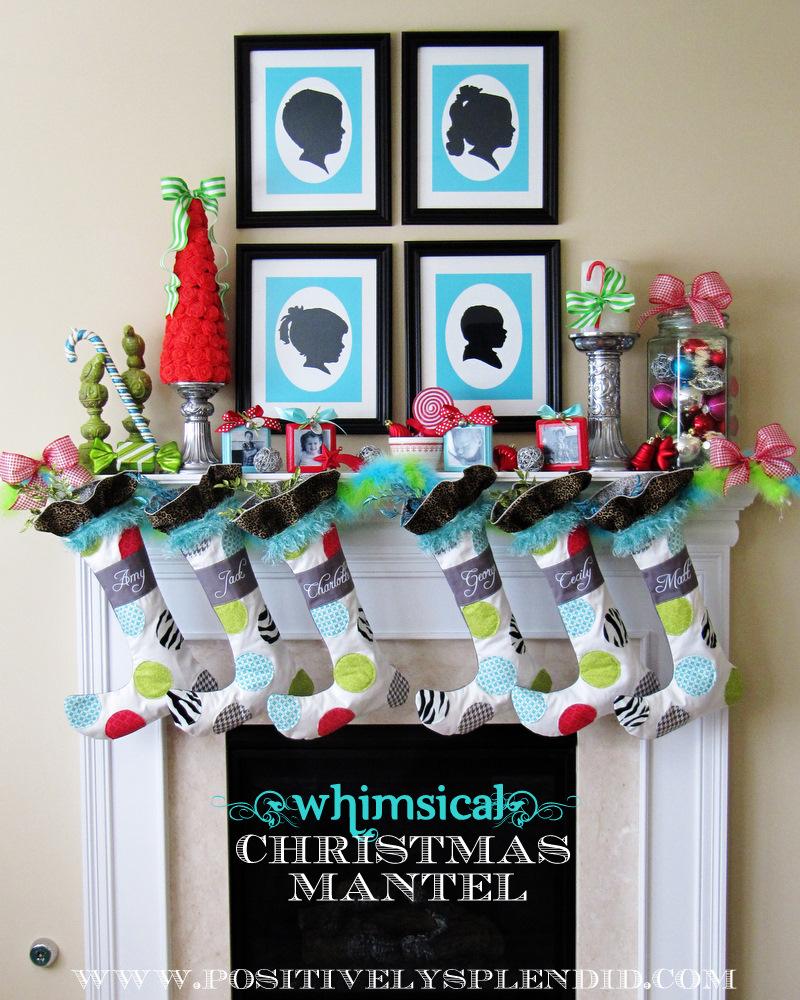 - 20 AWE Inspiring Mantels & Christmas Decor