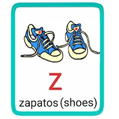 z- alphabet in spanish