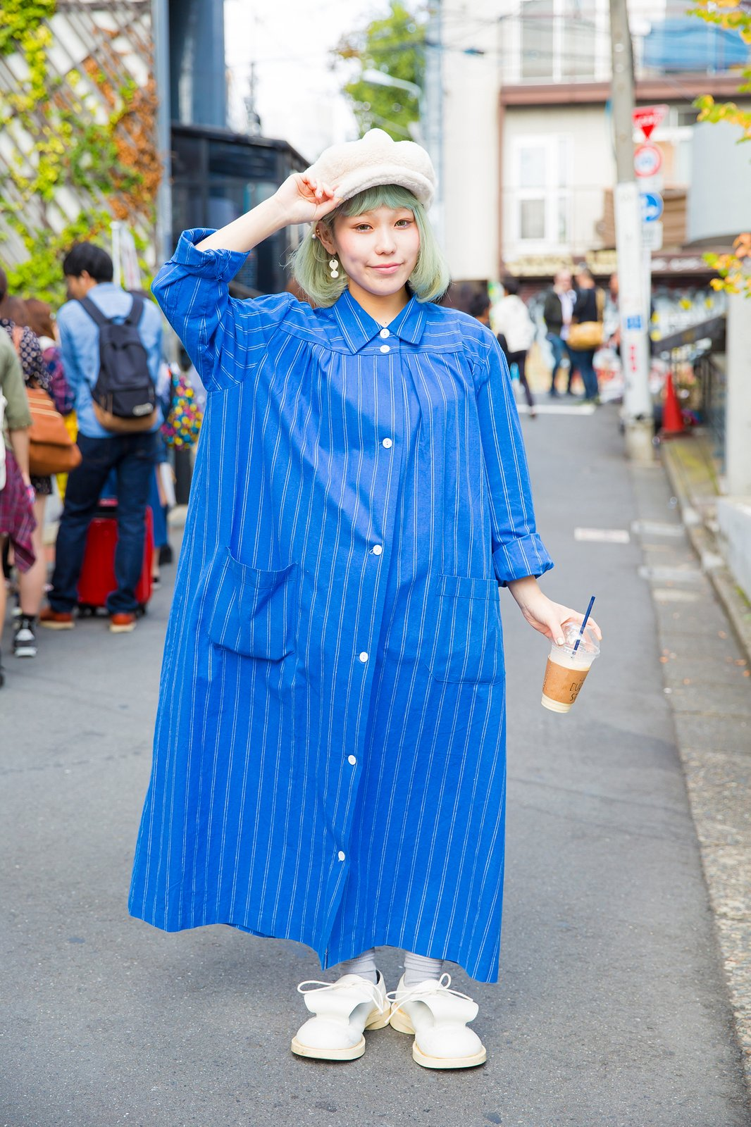 tokyo fashion week, spring 2016, blogger, shirt dress, ootd