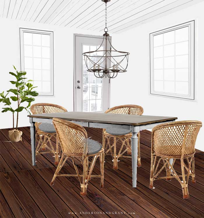 Breakfast nook design plans