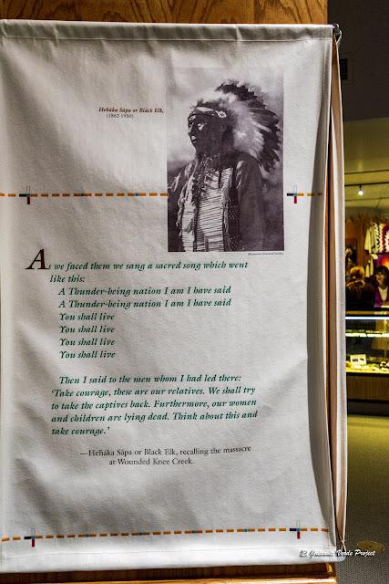 Alce Negro, sobre la masacre de Wounded Knee Creek - Akta Lakota Museum