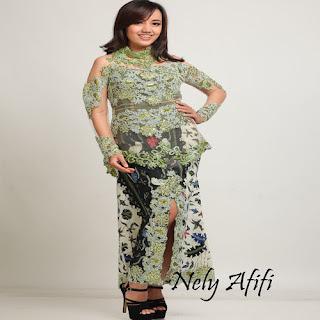 model rok batik untuk kebaya
