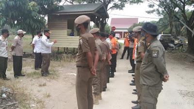 Pelaksanaan Operasi Yustisi Ditingkat Kecamatan Teluk Meranti,Dalam Rangka Penegakan Hukum Pratokol Kesehatan Copid-19