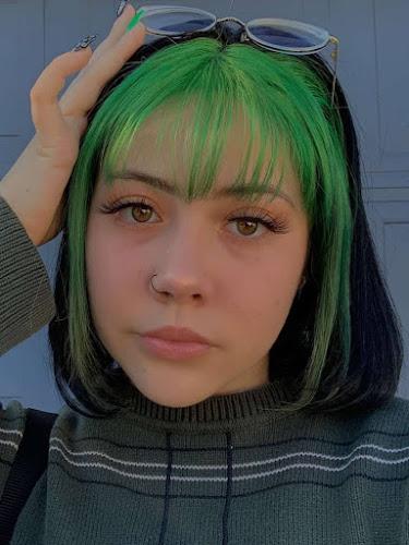 Mechones verdes