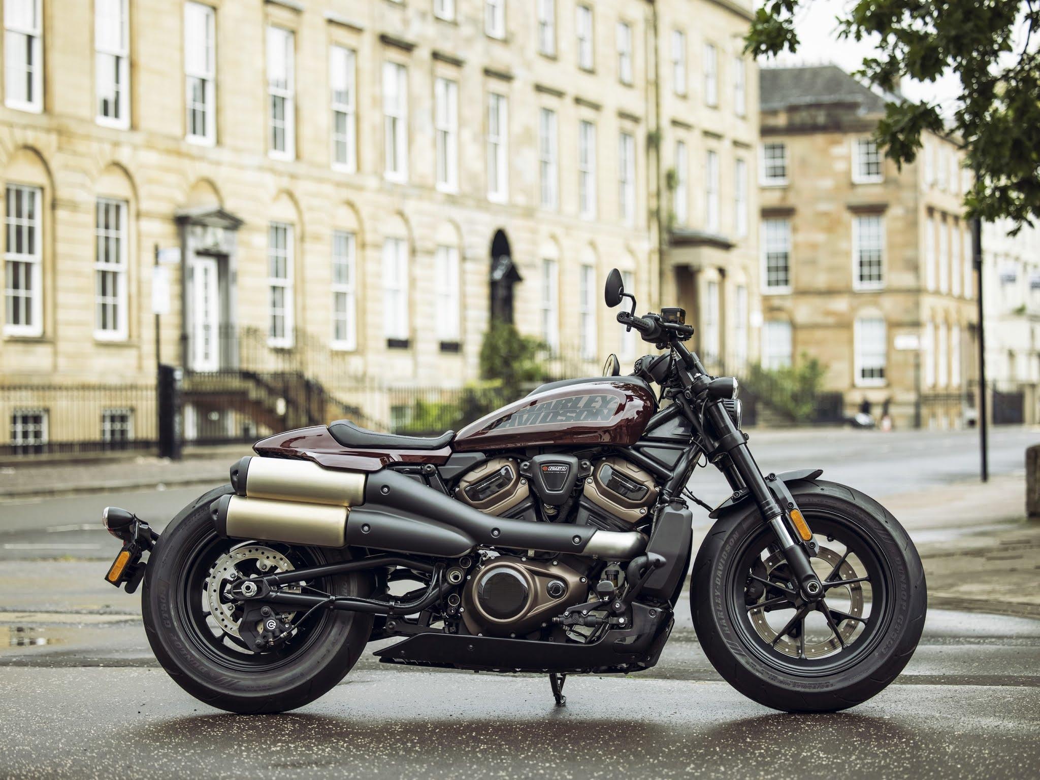 New Harley-Davidson Sportster S Model Delivers Unrelenting Performance