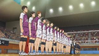 ハイキュー!! アニメ 3期1話   白鳥沢学園高校   Karasuno vs Shiratorizawa   HAIKYU!! Season3
