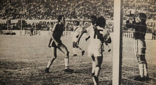 Perú y Chile en Clasificatorias a Argentina 1978, 26 de marzo de 1977