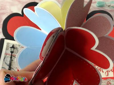 Card Heart Pop Up 3D
