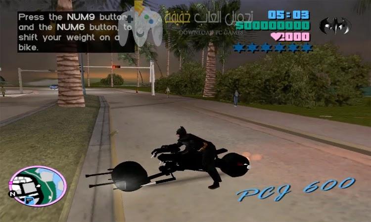تحميل لعبة GTA Vice City Batman