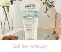 gel nettoyant bio Basis Sensitiv Lavera