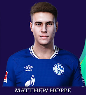 PES 2021 Faces Matthew Hoppe by Rachmad ABs
