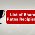 List of the Bharat Ratna Recipients