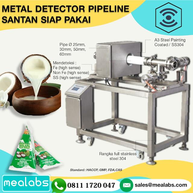 metal detector santan
