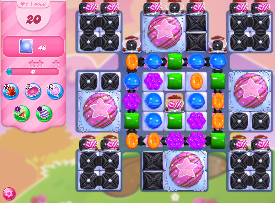 Candy Crush Saga level 4653