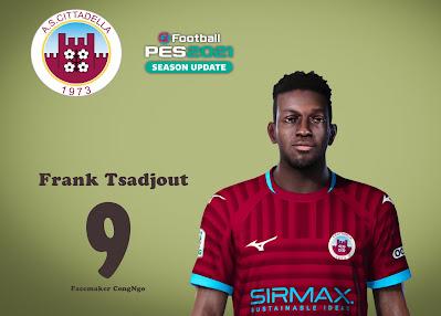 PES 2021 Faces Frank Tsadjout by CongNgo