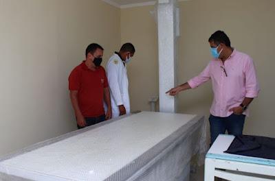 Piatã/BA: Novo equipamento de  Raio -X  e digitalizador  de imagem  está sendo  instalado no Hospital   Dr. Hélio Macedo Araújo